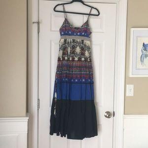 ABS collection floral boho maxi dress